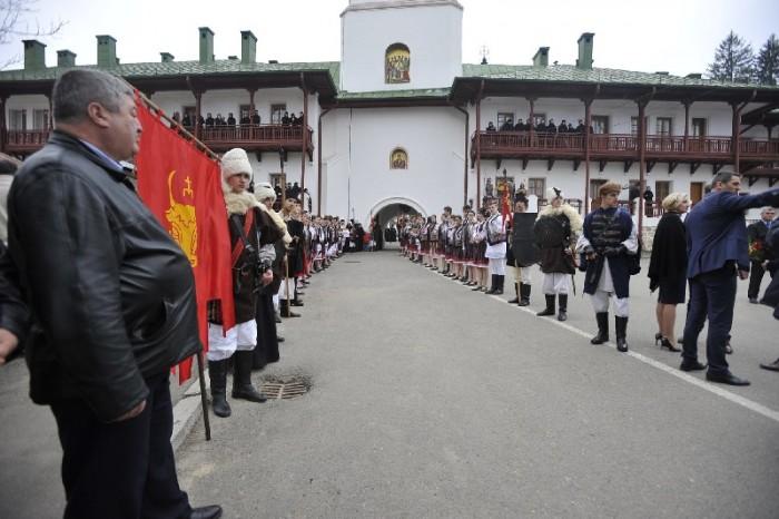 RO_MD-Premierii Romaniei si Moldovei la Manastirea Agapia-Piatra Neamt-23 martie 2017