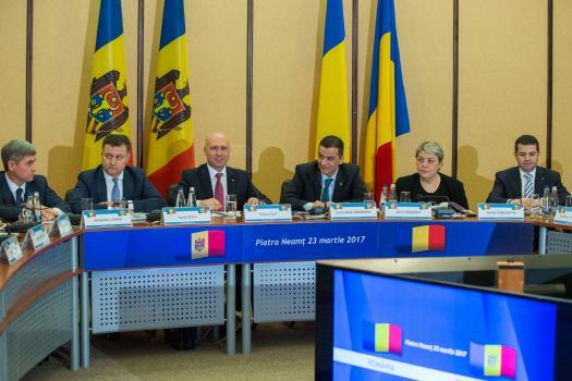 ReUniune MD-RO-sedinta Guverne la Piatra Neamt-23-03-2017-premierii-foto gov-md