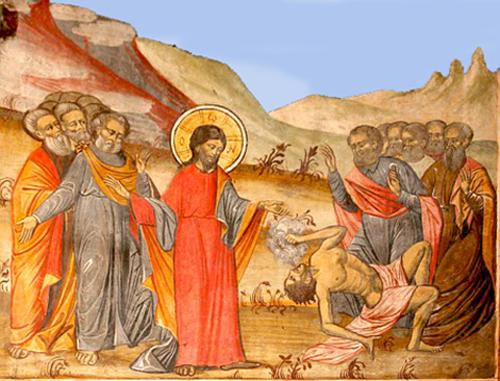 Sfinta Scriptura Vindecarea fiului lunatic-500px