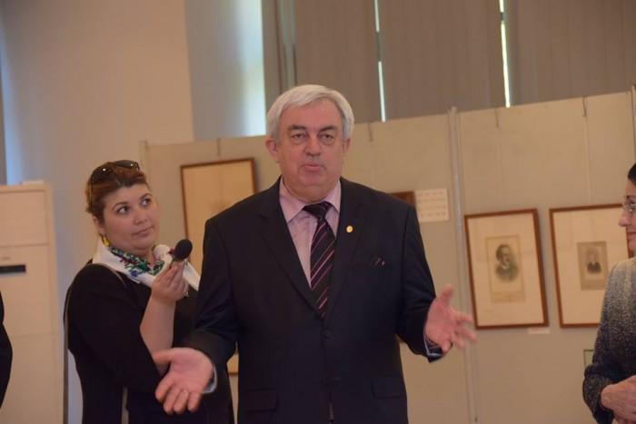Academia Romana la 151 ani-foto Acad Duca-Expozitie-3 aprilie 2017