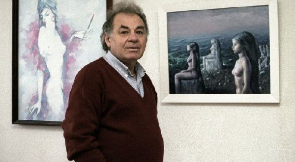 Emil Loteanu in galeria de arte-la senectute