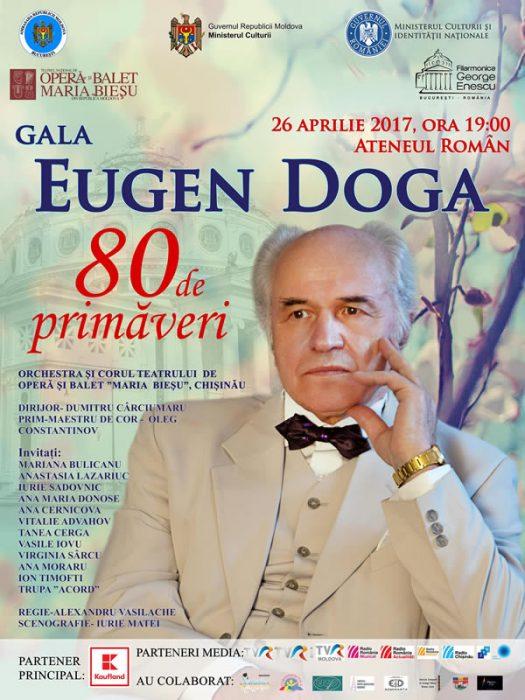 Eugen Doga spectacol la Ateneul Roman-POSTER-26 aprilie 2017