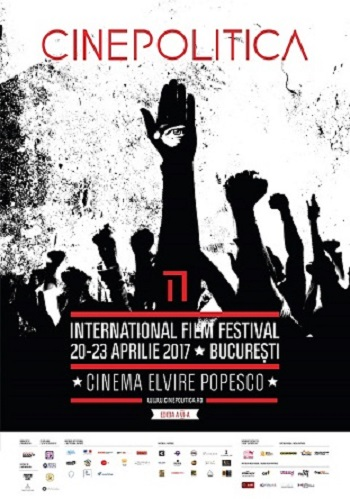 Festival Cinepolitica-20-23-apr 2017 Bucuresti-poster