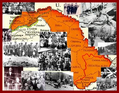 Harta-colaj-Basarabia Bucovina dupa 28 iunie 1940-deportari-Radio Iasi-400px