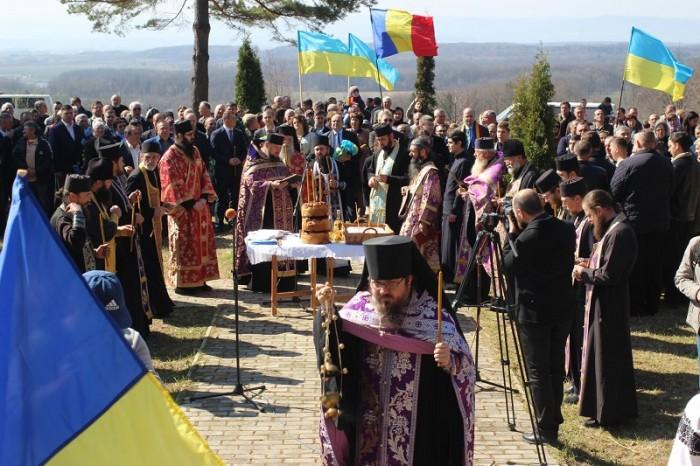 Masacrul d ela Fintina Alba-Cernauti-Parastas-slujba-1 aprilie 2017