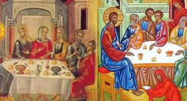 Sfinta Marea Miercuri-Maria sterge picioarele Domnului-Cuvantul Ortodox-ro