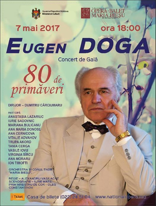 Eugen Doga-Afish Opera Nationala 7 mai 2017