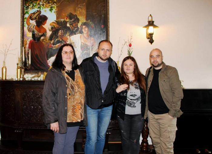 Paul Palencsar-Luminita Dumbraveanu-Natalia Bujor si Stas Ciorescu la Vatra Neamului-27 mai 2017