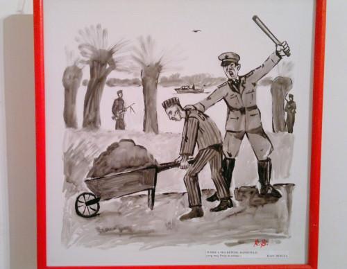 Radu Bercea-pictor-grafician Romania-tortionarii gulagului romanesc