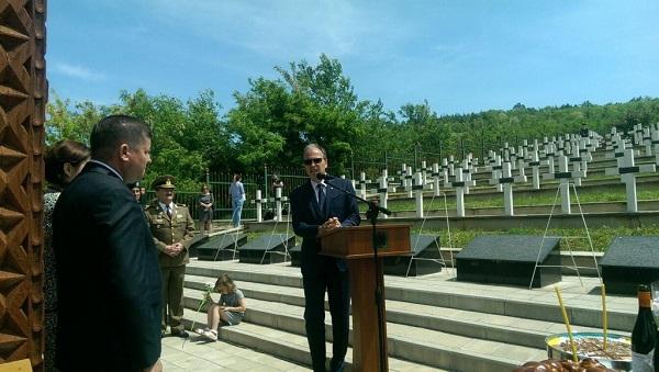Tiganca cinstirea eroilor romani din 1941-Ambasador Daniel Ionita-25-05-2017
