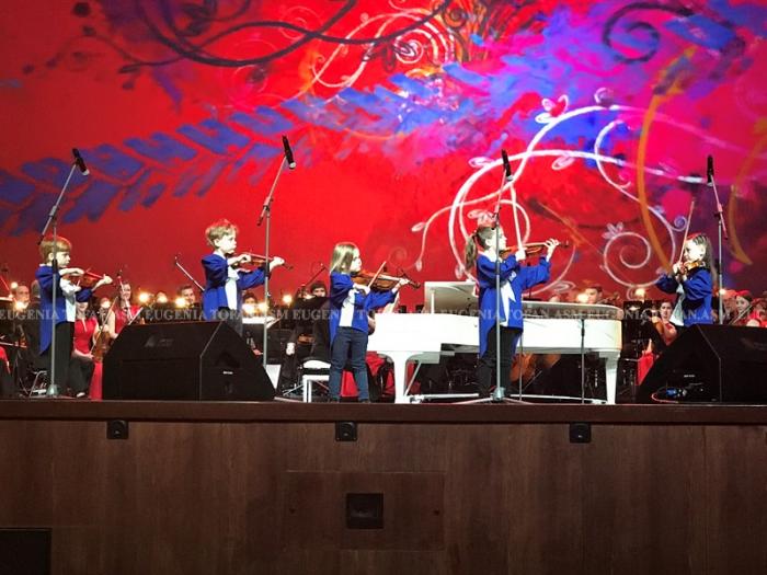 03-Eugen Doga Kremlin spectacol-foto Eugenia Tofan-2 iunie 2017-copiii violonisti