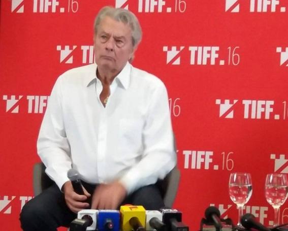 Alain Delon conferinta de presa Cluj-Napoca-10 iunie 2017