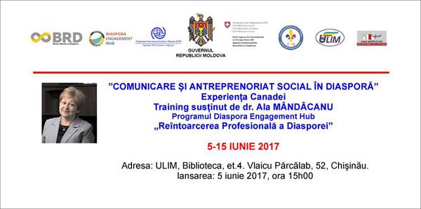 Diaspora-Training de Ala Mindicanu-poster-5-15 iunie 2017-600px