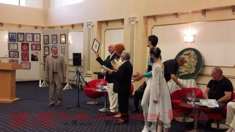Eminescu-Teiul de Aur 2017-Botosani-Eugen Doga-cu balerinii din Chisinau