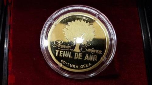 Eminescu-Teiul de Aur 2017-Botosani-MEDALIA