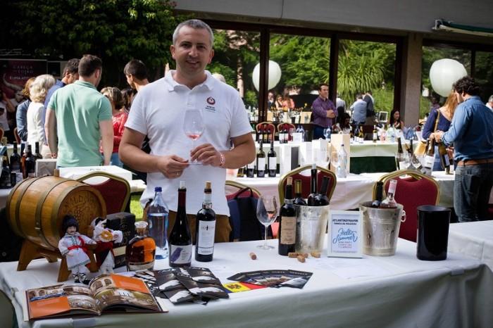 Simion Croitoru-vin MD in Portugalia-degustare