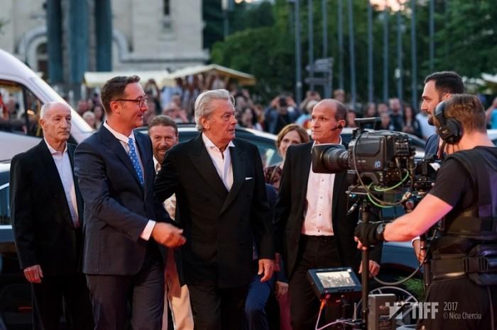 TIFF 2017-Alain Delon_Gala inchidere - 10 iunie 2017 foto Nicu Cherciu
