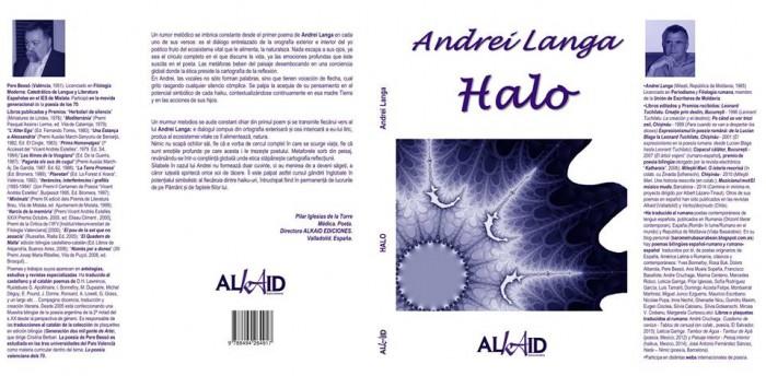 Andrei Langa carte Halo-ambele coperte