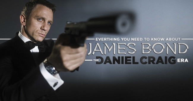 James-Bond jucat de Daniel Craig