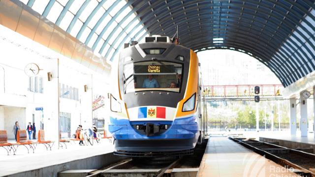 Moldova Garnitura de tren modernizata-foto simbol