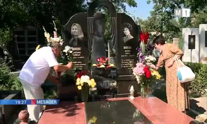 3-Maria Biesu comemorata la Chisinau