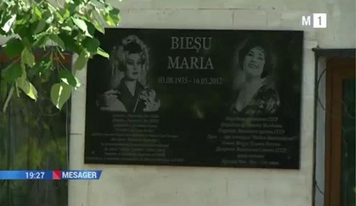 4-Maria Biesu comemorata la Chisinau