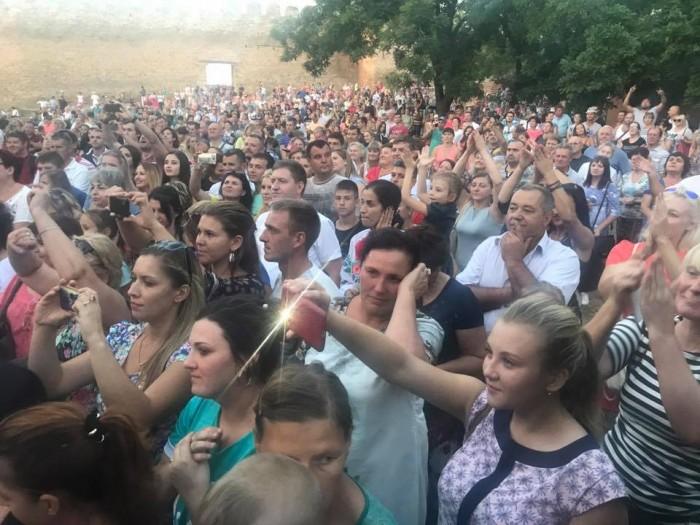 Cetatea Alba concert Zdob si Zdub Alba-public 1-27 august 2017