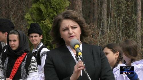 Consulul Romaniei Cernauti Eleonora Moldovan 1 aprilie 2016