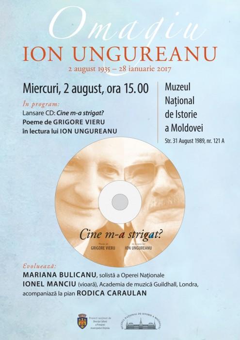 Ion Ungureanu lansare CD poeme Gr Vieru-2 august 2017-POSTER