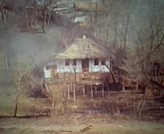 Maria Dragan casa parinteasca-filmari Vlad Druck 1988