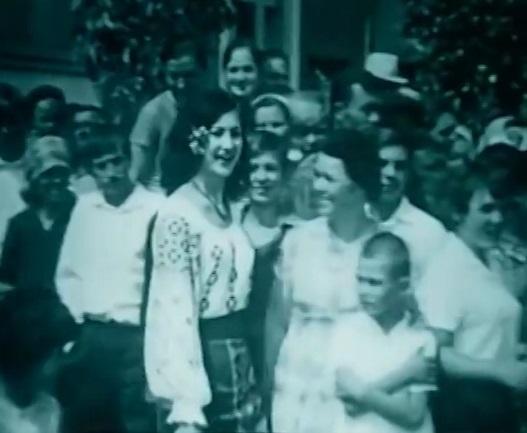 Maria Dragan filmari Loteanu-captura Flacara Film 2