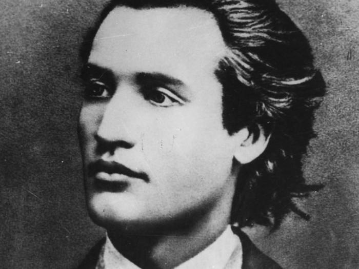 Mihai Eminescu foto d ela 19 ani