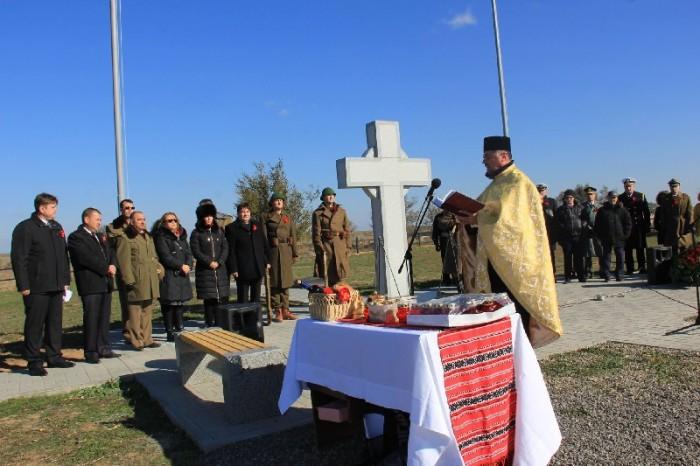Ostasi romani reinhumati in Rusia-lupta de la Stalingrad-PREOT-ceremonie inaugurare