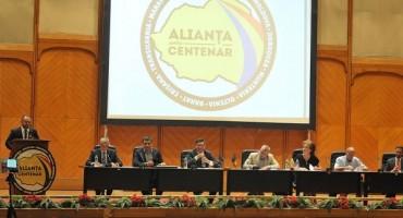 Parlamentul Romaniei-crearea Aliantei pentru Centenarul Unirii-Prezidiu-20 august 2017