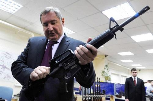 Rogozin Dmitriy cu arma in mina-Digi24-ro