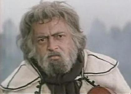 Serghei Lunchevici alias Toma Alistar din filmul Lautarii de Emil Loteanu-1971