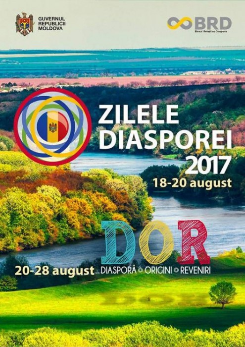 Zilele Diasporei in RM-18-20 aug 2017-afish