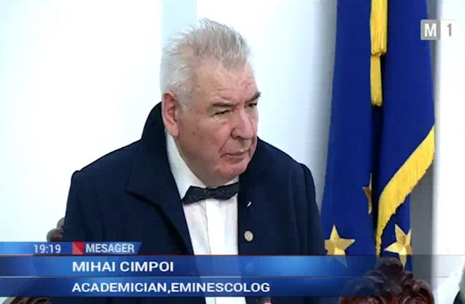 2-Mihai Cimpoi-Congresul Eminescologilor-deschidere 4 sept 2017