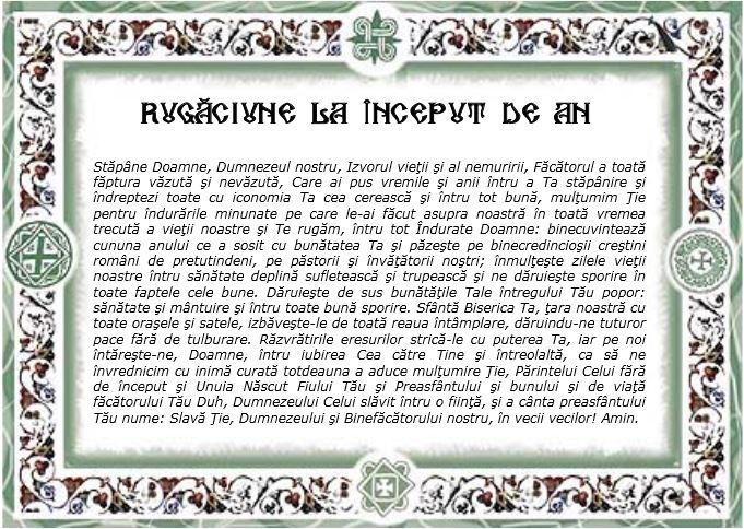 Anul Nou bisericesc-Rugaciune