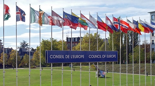 Council of Europe member States flags / Drapeaux des Etats membres du Conseil de l'Europe