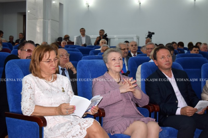 Mihai Cimpoi la 75 ani-Congresul Eminescologilor-4 sept 2017 ASM-Alex-dra Can