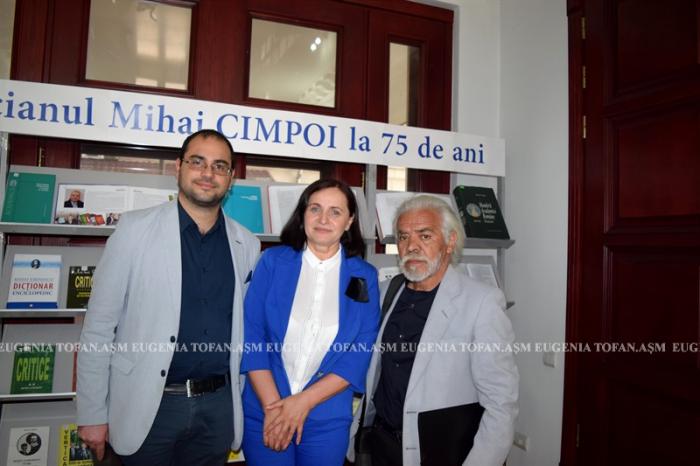 Mihai Cimpoi la 75 ani-Congresul Eminescologilor-4 sept 2017 ASM-Eugenia Tofan