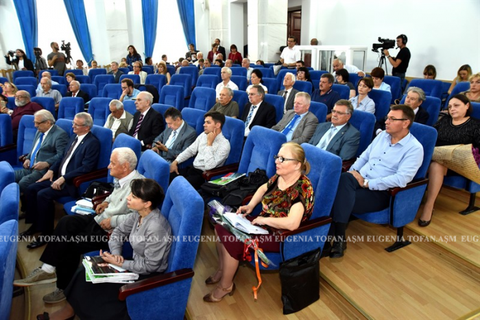 Mihai Cimpoi la 75 ani-Congresul Eminescologilor-4 sept 2017 ASM-PUBLIC