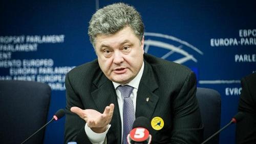 Petro Porosenco Presedintele Ucrainei