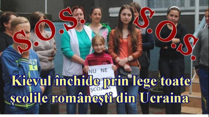S.O.S. Cernauti Kievul inchide scolile romanesti-banner-6 sept 2017