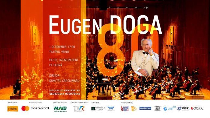 5-Eugen Doga-concert Teatrul de Vara-poster iTicket-1 oct 2017