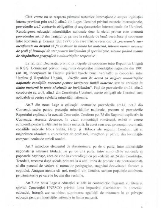 Cernauti Memoriu Comisiei de la Venetia-14.10.4