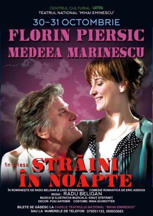 Florin Piersic Medeea Marinescu Straini in noapte 30-31 oct 2017