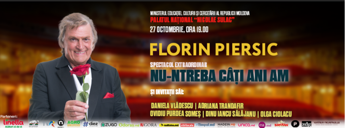 Florin Piersic la Chisinau poster-27 oct 2017