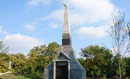 Ismail_Vulturul-monument in cimitirul_eroilor-prezent Agerpres-ro